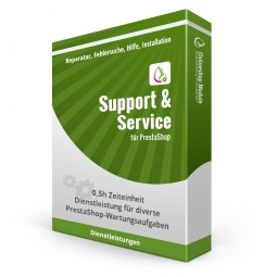 PrestaShop Support & Service 0,5h